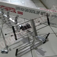 ANTENA ANTENNA TV LUAR PF DIGITAL 5000 SUPER HIGH GAIN DIGITAL UHF mod