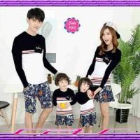 Baju Couple Family NSUN LP (2 anak) -pakaian Fashion Pasangan keluarga