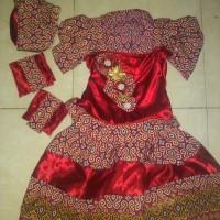 baju fashion show batik fancy
