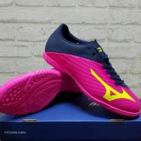 Sepatu Futsal Mizuno Basara 103 Pink Black P1GF 176414 Original
