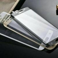 Samsung Galaxy S6 Edge Plus Anti Gores Kaca Tempered Glass Full