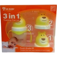US Baby Bear Training Cup 3in 1