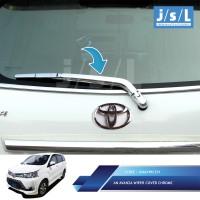Grand All New Avanza Wiper Cover Chrome JSL / Aksesoris Mobil