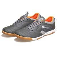 ORIGINAL DISTRO - sepatu futsal abu grey keren bsm sepatu sport putsal