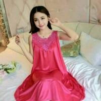 Lingerie Dress Daster Jumbo Piyama Premium Baju Tidur Sexsi Wanita