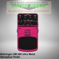 Efek Gitar Behringer UM-300 / Behringer UM300 / Behringer Ultra Metal