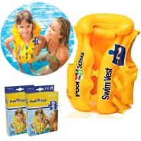 INTEX Baju Jaket Ban / Pelampung Renang Anak/Swim Vest 3-6 th (58660)