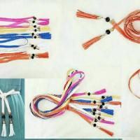 Ban pinggang wanita model ikat.belt fashion wanita.gesper tali pita.