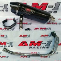 Knalpot Yoshimura R77 Carbon 2 Fullset Ninja 250fi 250 Karbu Abs SE