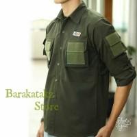Pakaian Pria/Kemeja Tactical/PDL/Baju/Hunting/Kemeja/Komunitas/Atasan