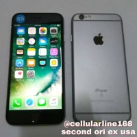 Iphone 6S 128Gb Grey Second Mulus Ori ex internasional USA ,fullset
