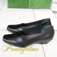 Sepatu Wanita Kulit Asli - Sepatu Kantor Pantofel Kulit Asli - 117