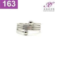 Cincin Emas putih Perhiasan imitasi 18k Yaxiya Jewelry 163