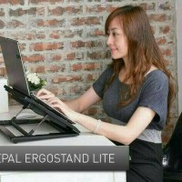 Meja Laptop Portable / Notebook Cooler Pad Stand Big Fan YL 339