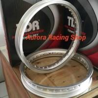 Velg TDR W Shape Ring Set 17 x 185 / 215 warna Silver