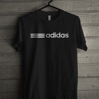 Kaos Tshirt Baju Olahraga Adidas 3 Strip grade ori