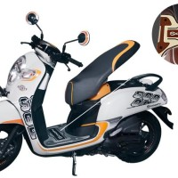 Karpet Motor Rubber Step Floor All New Scoopy Stylish