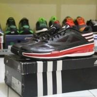 sepatu basket adidas crazy light 3 low black