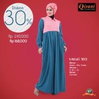 Qirani Dewasa Melati 183 | Baju Perempuan Wanita Muslim Gamis Dress.