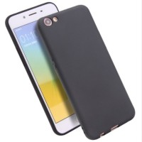 Casing Oppo F1S A59 A57 A39 Soft Silicone Black