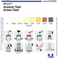 Arsenic Test Merck 0.005-0.50 mg/l As, Test Kit Arsen Merck 117927