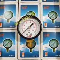 1/4 Drat Samping Pengukur Tekanan (Pressure Gauge) - Part Pompa Air