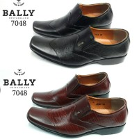 Sepatu Pantofel / Sepatu Formal Pria Kulit Asli Bally 7048 Diskon