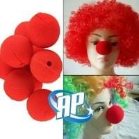 hidung badut merah/ red nose/ clown party/ pesta topeng halloween gag