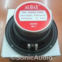 SPEAKER SUBWOOFER 6 INCH AUDAX AX-6022 150 WATT ORIGINAL