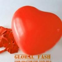 balon latex hati merah / balon latex love merah / balon dekorasi