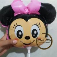 Balon Stik Tsum Tsu A1/ Balon Ulang Tahun/ Balon Souvenir/ Balon Foil