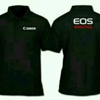 polo shirt/baju/kaos kerah canon
