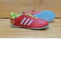 sepatu futsal size jumbo adidas original premium red white 44-47 impor