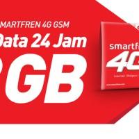 Perdana Smartfren 4G LTE GSM Kuota 13GB 24 Jam