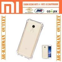 Anti crack cover armor soft case xiaomi redmi note4 note 4x snapdragon