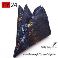 pocket square handkerchief motif! ready stok murah import sapu tangan