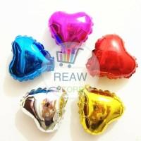 Balon Foil Love / Hati Super Mini (10cm)