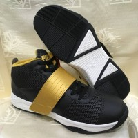 sepatu basket piero onimaru warna hitam gold ORIGINAL