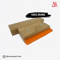 Rakel Orange - Sablon Manual