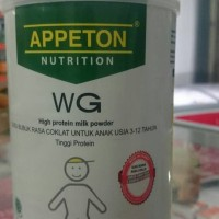 apetton anak wg 450 gr rasa coklat