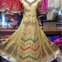 Dina Alea anarkali baju india ori grosir dress india gamis hijab tas