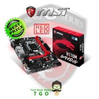 MOTHERBOARD MSI H110M-GAMING - LGA 1151