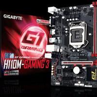PROMO Motherboard Gigabyte H110M Gaming 3 DDR4 Socket 1151