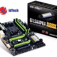 PROMO Gigabyte Motherboard Socket FM2+ (G1 SNIPER A88X) Resmi