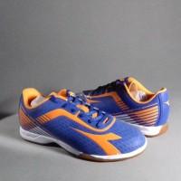 Sepatu Futsal DIADORA 7 Fifty ID Original 100% Blue Mar Limited