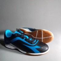 Sepatu Futsal DIADORA 7 Fifty ID Original 100% Black Bl Murah