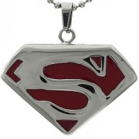 Kalung Superman Red
