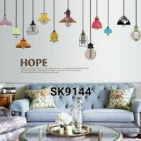 WALL STICKER STIKER DINDING SK9144 HOPE 60X90