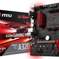 MSI A320M Gaming Pro (AM4, AMD Promontory A320, DDR4, USB3.1, SATA3)