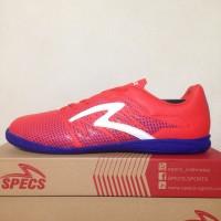 NEW Sepatu Futsal Specs Apache IN Red Poppy 400567 Original BNIB